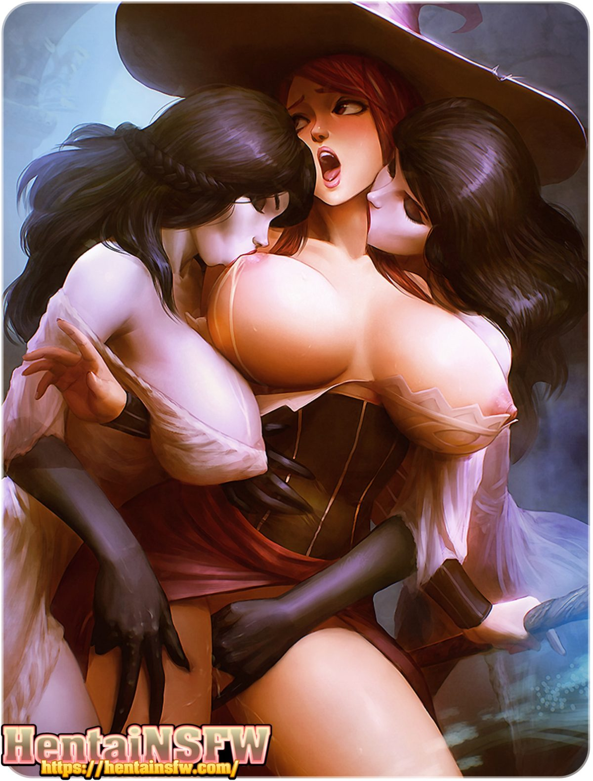 oppai hentai sorceress dragonscrown yuri