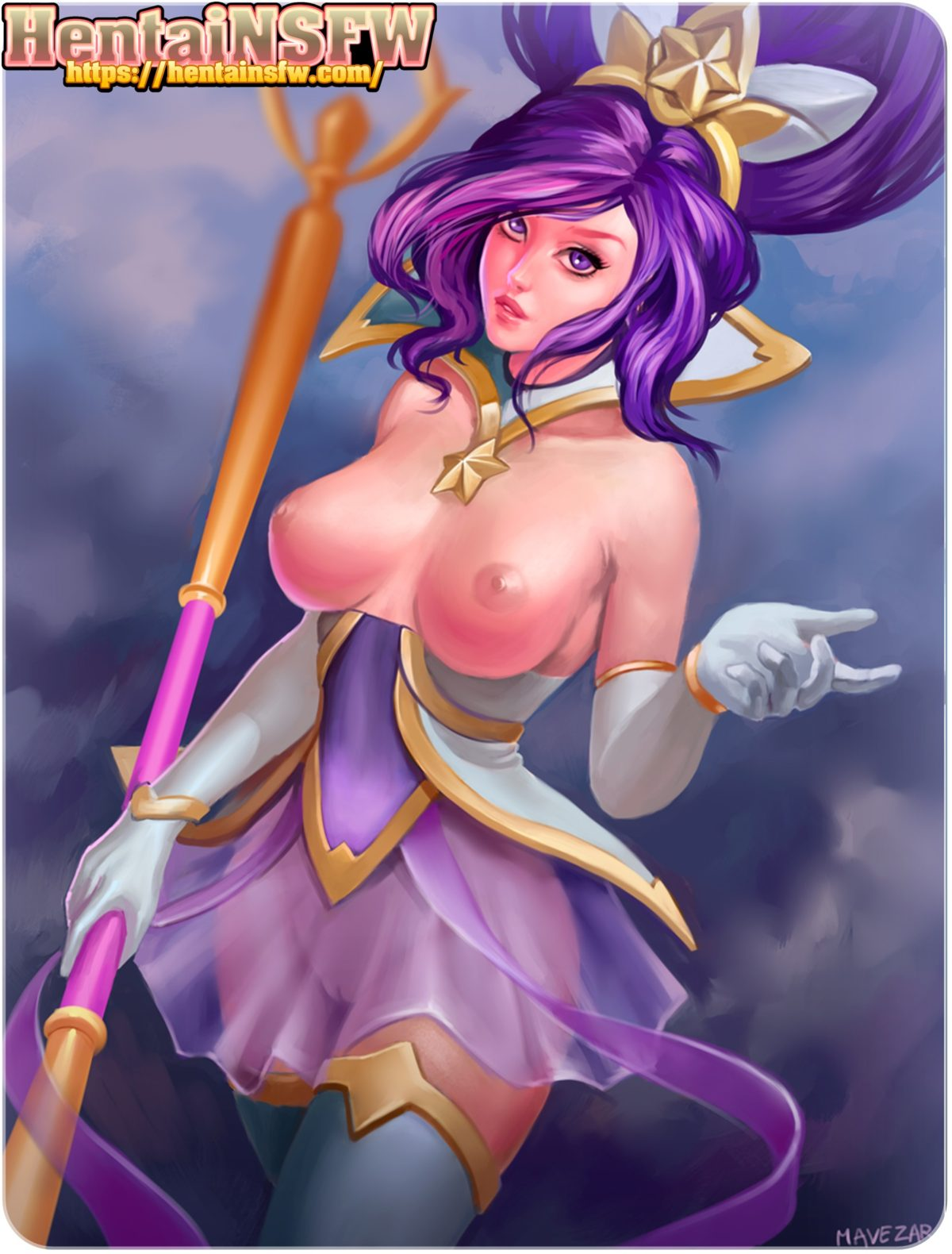 leagueoflegends starguardianjanna gaming porn lol