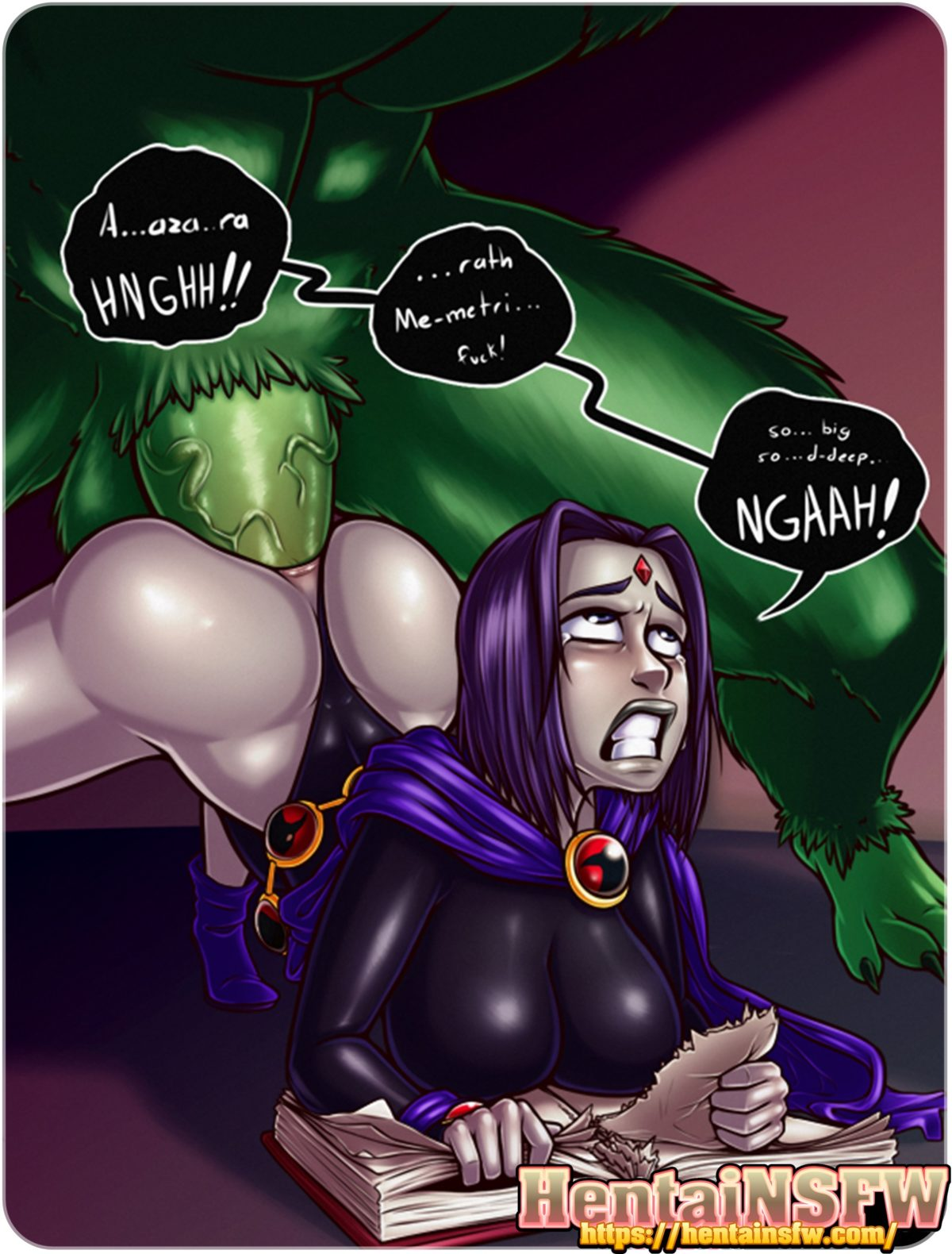 Raven And Beast Boy Porn - Porno Photo-5885