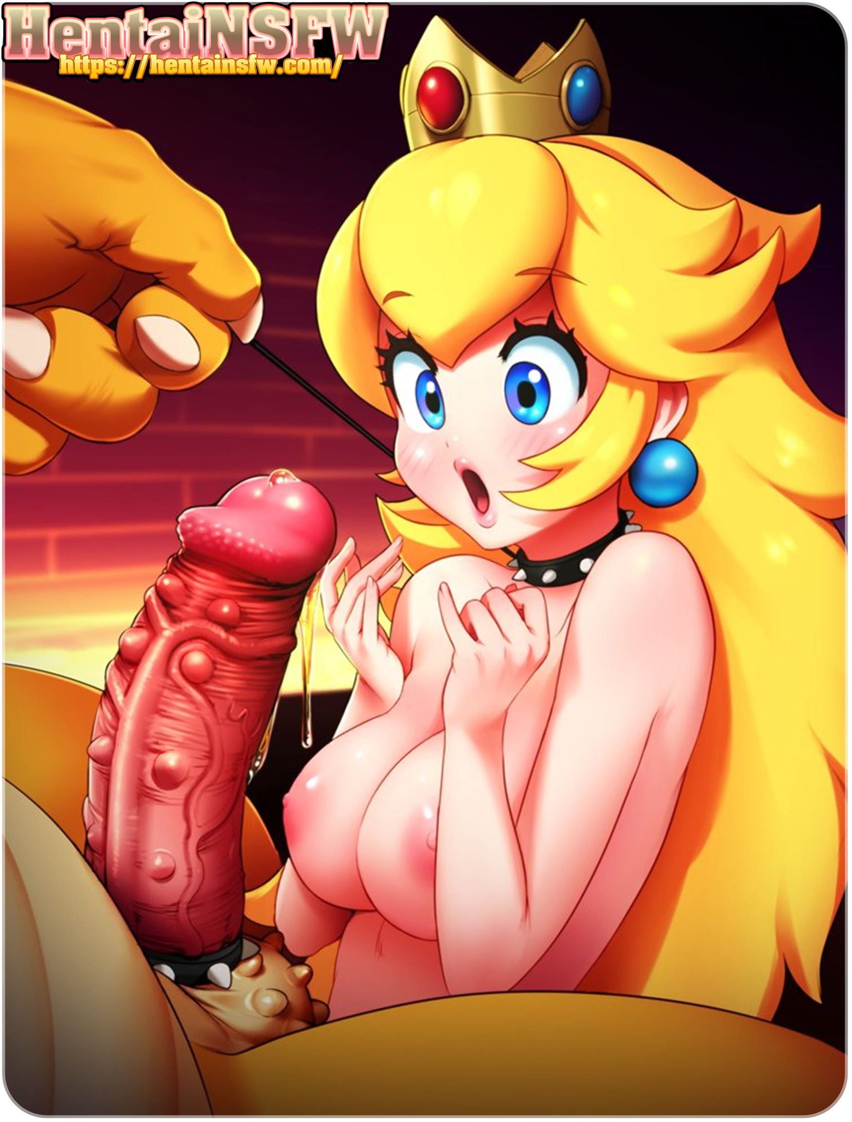 NSFWhentai gameporn supermariobros princesspeach uncensored